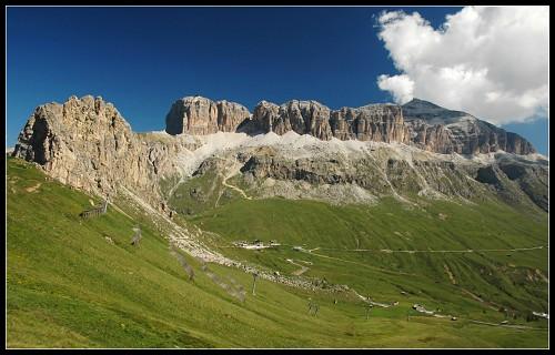 Masiv Sely, vlevo vrchol SasBecé
