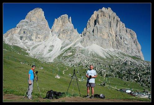 Zdržující fotografové -Pavel a Franta