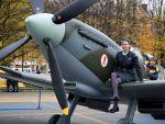 Spitfire Mk IX v Porubě